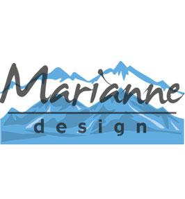 Creatable Horizon Snowy Mountains - Marianne Design