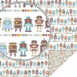 """Designpapier """"Roboter """" - Artemio"""