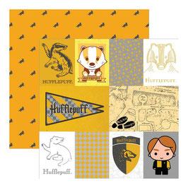 """Designpapier """"Harry Potter, Hufflepuff"""""""