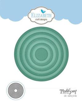 """Stanzschablone """"Dashing Circles"""" - Elizabeth Craft Designs"""