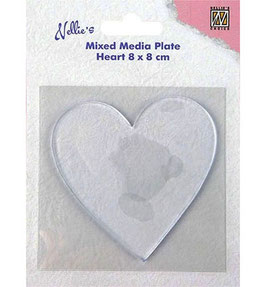 Gelplate Heart - Nellies Choice