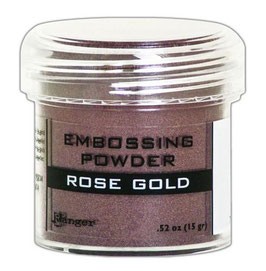 "Embossingpulver ""Rose Gold Metallic"" - Ranger"