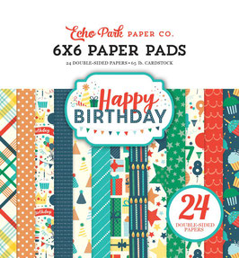 Happy Birthday Boy - Echo Park Paper