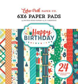 Happy Birthday Boy - Echo Park Paper