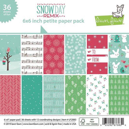 Snow Day Remix 6x6 Paperpad - Lawn Fawn