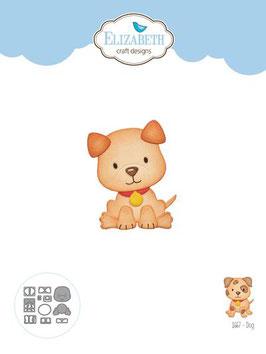 """Stanzschablone """"Dog"""" - Elizabeth Craft Designs"""