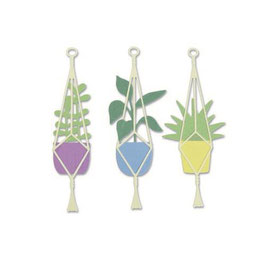 "Thinlits Die Set ""Hanging Planter"" - Sizzix"