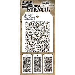 Mini Stencil Set #26 - Tim Holtz