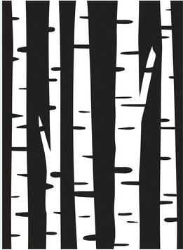 """Prägeschablone """"Birch"""" - Darice"""