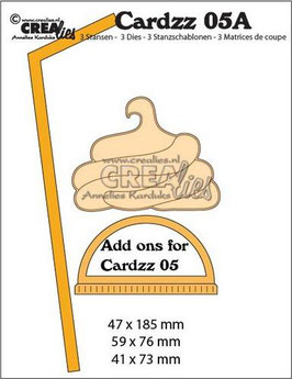 "Cardzz #5A ""Add Ons for Mug To Go"" - Crealies"