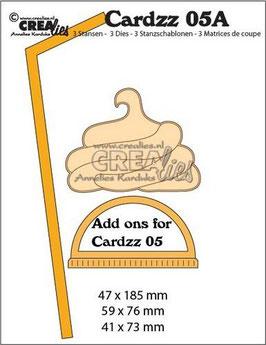 "Cardzz #5A ""Add Ons for Mug To Go"" - Crealies"