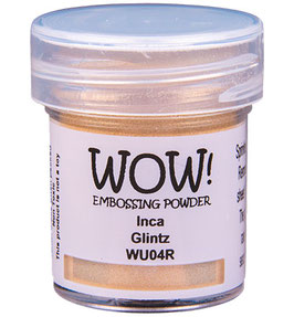 "Embossingpulver ""Inca Glintz"" - WOW!"