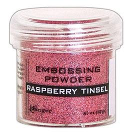 "Embossingpulver ""Raspberry Tinsel"" - Ranger"