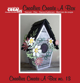 Create A Box, Vogelhäuschen - Crealies