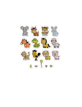 "Sizzix Framelits Die Set with Stamps ""Zodiac Animals"" - Sizzix"