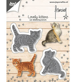 "Stanzschablone ""Lovely Kittens"" - Joy Crafts"