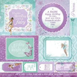 Designpapier Fairy Dust, Fairy Wishes - Kaisercraft