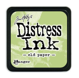 Tim Holtz Distress Mini Ink - Old Paper