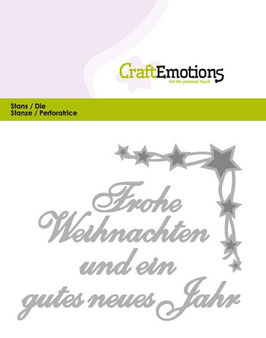 Frohe Weihnachten - Craft Emotions