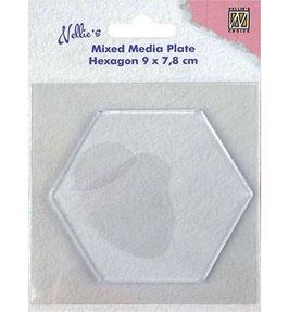 Gelplate Hexagon - Nellies Choice