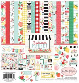Summer Market 12x12 Collection Kit - Carta Bella