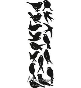 "Craftable ""Birds"" - Marianne Design"