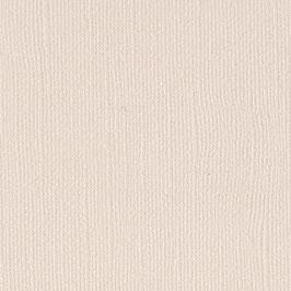 """Leinenstrukturpapier """"Vanilla"""" - American Crafts"""