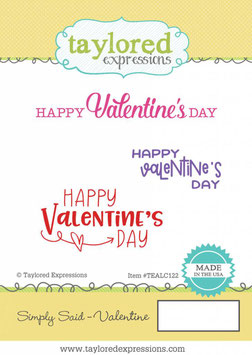 Simply Said Valentine - Taylored Expressions