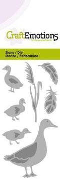 Ente mit kleinen Enten - CraftEmotions