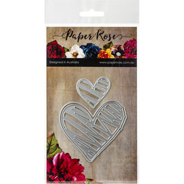 Scribble Hearts, Stanze - Paper Rose