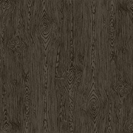 Black Woodgrain Textured Cardstock - American Crafts