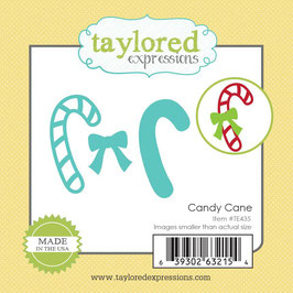 """Stanzschablone """"Little Bits Candy Cane"""" - Taylored Expressions"""