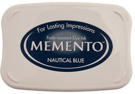Memento Inkpad - Nautical Blue