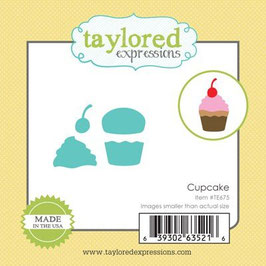 "Stanzschablone ""Cupcake"" Little Bits - Taylored Expressions"