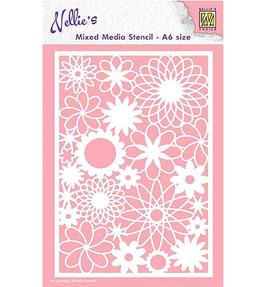 "Schablone ""Flowers"" - Nellie Choice"