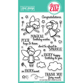 "Clearstamp-Set ""Pixie Dust"" - Avery Elle"