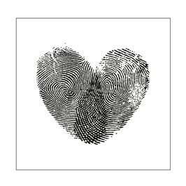"Prägeschablone ""Fingerprint"" - Mundart Stempel"