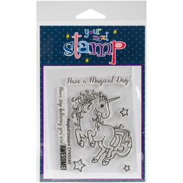 "Clearstamp ""Magic Unicorn"" - Your Next Stamp"