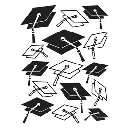 "Prägeschablone ""graduation cap"" - Darice"