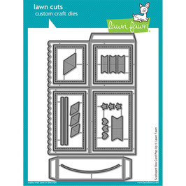 Scalloped Box Card Pop-Up - Lawn Fawn