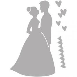 """Stanzschablone """"Brautpaar"""" - Rayher"""