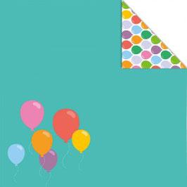 """Designpapier """"Ballons """" - Artemio"""
