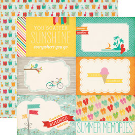 Summer Bliss, Summer Memories - Echo Park Paper