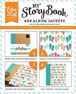 Album Jacket, Flip Flops - Echo Park Paper