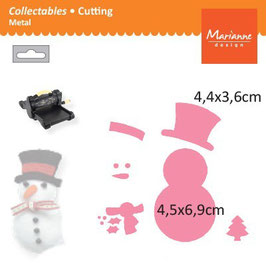 Collectables Snowman - Marianne Design