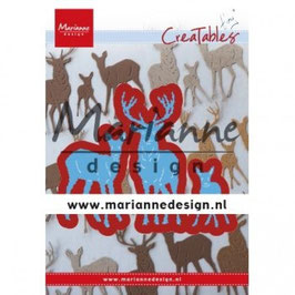 "Creatables ""Tiny's Deer Family"" - Marianne Design"