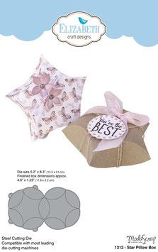 Star Pillow Box - Elizabeth Craft Designs/Modascrap