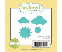 Little Bits Sun & Clouds - Taylored Expressions