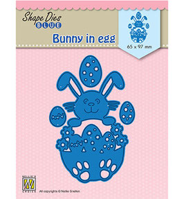 "Stanzschablone ""Bunny in Egg"" - Nellies Choice"