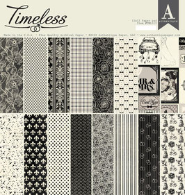 Timeless 12x12 Paperpad - Authentique